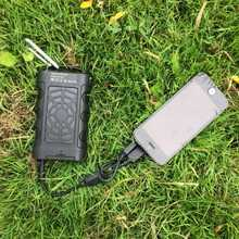 MSC Waterproof Solar Charger | Travel Solar Charger | Phone