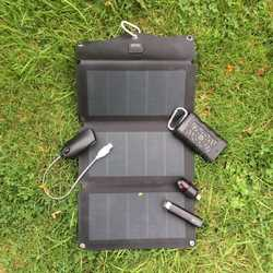 MSC 10W/15W/20W CIGS Expedition 5V Folding Solar Panel Charger