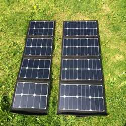 MSC 45W/90W/120W SunPower Foldable Solar Panel Charger | 5v | 12v | 19v