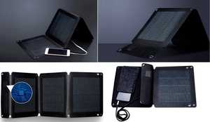 MSC CIGS Folding Solar Charger