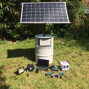 Solar Charging Can & Controller