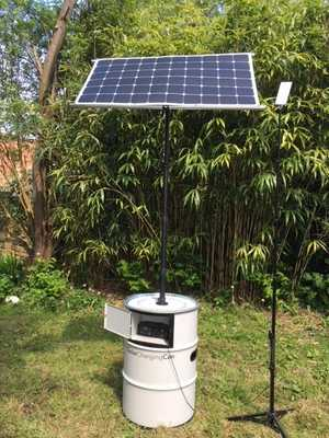 Solar Charging Can & LED lighting