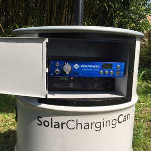 Solar Charging Can & MSC 110Ah Power Bank