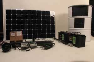 Solar Charging Can contents