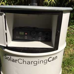 Solar Charging Can Control Panel