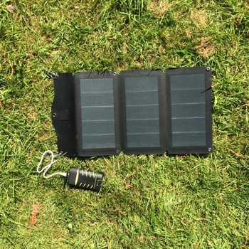 MSC 10W/20W CIGS Expedition 5V Folding Solar Panel Charger