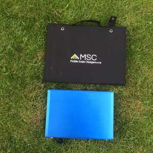 MSC 113Ah Super Power Bank and 40W Solar Panel